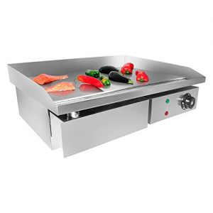 GorillaRock Flat Top Griddle | Teppanyaki Grill with Manual Control | 21.50' x 17.00' | 110V