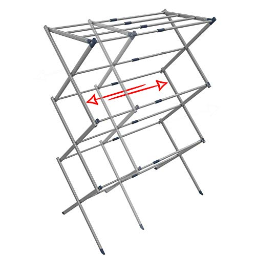 Clothes Drying Rack - Drying Rack - Laundry Drying Rack - Laundry Hanger - Baby Clothes Drying Rack - Folding Drying Rack - Portable Drying Rack - Accordion Drying Rack - Expandable Drying Rack