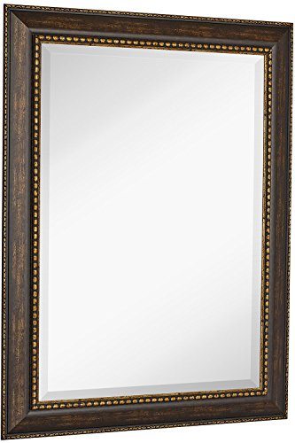 """NEW Large Embellished Transitional Rectangle Wall Mirror 