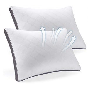 SEPOVEDA Bed Pillows for Sleeping 2 Pack, Hypoallergenic Pillow for Side and Back Sleeper,Adjustable Hotel Pillow Stomach, Side Sleepers-Standard Size