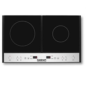 Cuisinart ICT-60 Double Induction Cooktop, One Size, Black