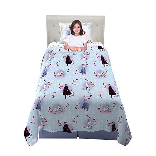 Franco Kids Bedding Super Soft Microfiber Sheet Set, 3 Piece Twin Size, Disney Frozen 2