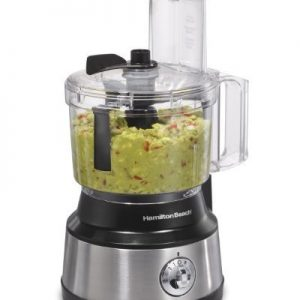 Hamilton Beach (70730) Food Processor & Vegetable Chopper with Bowl Scraper, 10 Cup, Electric (Renewed)