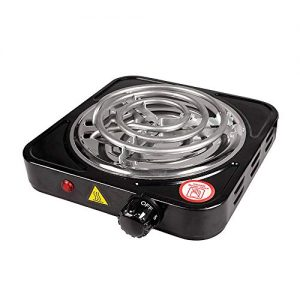 Boshen Portable Electric Single Coil Burner Countertop Hot Plate Home Outdoor Automatic Temperature Control