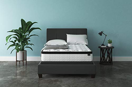 Signature Design by Ashley - 12 Inch Chime Express Hybrid Innerspring - Firm Mattress - Bed in a Box - Full - White