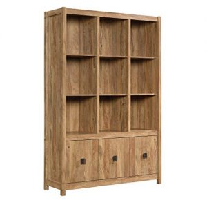"Sauder Cannery Bridge Storage Wall, L: 48.31"" x W: 15.59"" x H: 71.97"", Sindoori Mango Finish"