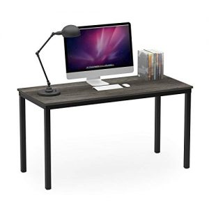 "Teraves Computer Desk/Dining Table Office Desk Sturdy Writing Workstation for Home Office (47.24"", Black Oak)"