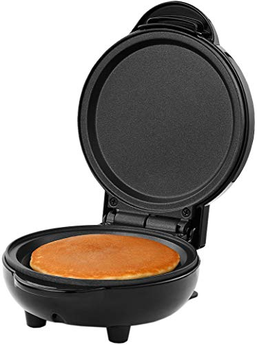 "Holstein Housewares HH-09125014B Personal Non-Stick 4-inch Griddle, 4"", Black"