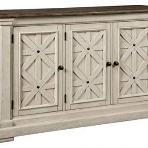 Signature Design by Ashley - Bolanburg Dining Room Server - Vintage Casual - Weathered Oak/Antique White
