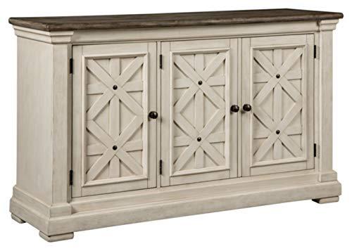 Signature Design by Ashley - Bolanburg Dining Room Server - Vintage Casual - Weathered Oak/Antique White