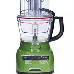 KitchenAid RKFP0722GA 7-Cup Food Processor with Exact Slice System - Green Apple (Renewed)