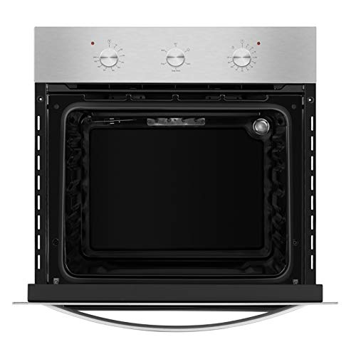 """Empava 24"""" Electric Single Wall Oven with Basic Broil/Bake Functions Mechanical Guarantee: 2 Yr Elements Guarantee"""