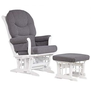 Dutailier Sleigh 0372 Glider Multiposition-Lock Recline with Ottoman Included