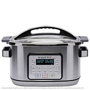 Instant Pot Aura Pro 11-in-1 Multicooker Slow Cooker, 8 Qt, 11 One-Touch Programs