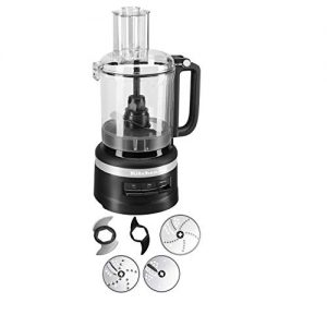 KitchenAid 9-Cup Food Processor Plus | Black Matte (Renewed)