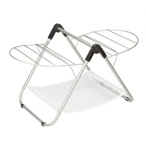Honey-Can-Do DRY-03623 Tabletop Gullwing Drying Rack, 16.9W x 29H,Silver