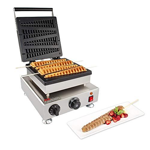 ALDKitchen Lolly Stick Waffle Maker   Stainless Steel Tree Waffle Maker   110V   1750W   4 Pcs
