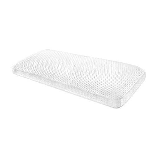 SensorPEDIC Luxury Extraordinaire Gusseted Memory Foam Pillow with Ventilated Icool Technology, King Size, White