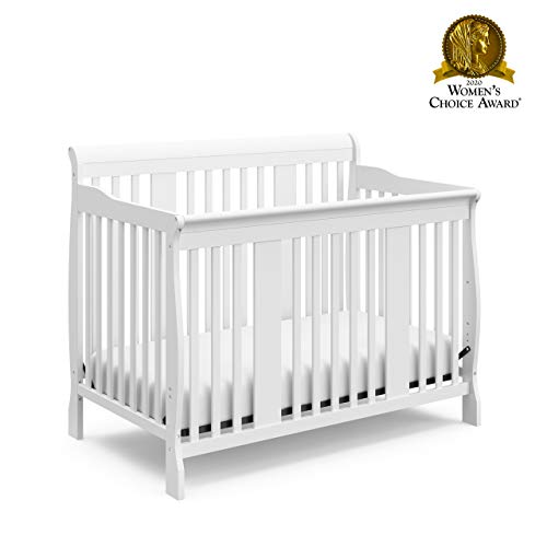 Storkcraft Tuscany 4-in-1 Convertible Crib, White Easily Converts to Toddler Bed Launch Date: 2012-08-24T00:00:01Z