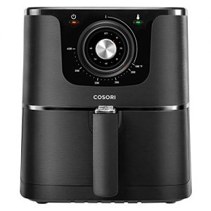 COSORI CO137-AF 1500-Watt Electric Hot Air Fryer Oven Oilless Cooker With Deluxe Temperature Knob Control, Nonstick Basket, 3.7Qt, color