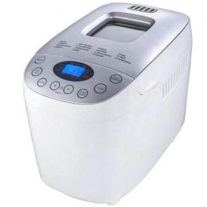 2.2 Lb Bread Maker Automatic Custom Program Multifunctional Bread Machine with 15 Programs, 3 Crust Colors, 13 Hours Delay Timer, 1 Hour Keep Warm, American Plug, English Panel(110V 550W)