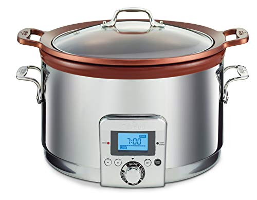 All-Clad Gourmet Slow Cooker, 5 quarts, Silver
