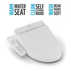 TOTO SW2014#01 A100 Electronic Bidet Toilet Cleansing Warm Water and Heated Seat, Elongated, Cotton White