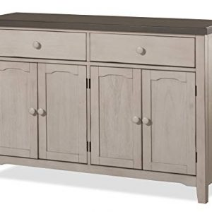 Hillsdale Furniture Hillsdale Clarion Server Distressed Gray/Sea White