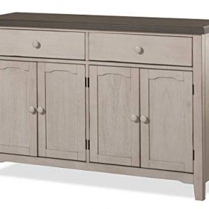 Hillsdale Furniture Hillsdale Clarion Server Distressed Gray/Sea White