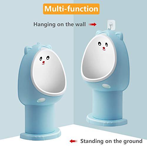 Hallo Potty Training Urinal Boy Urinal Kids Toddler Pee Trainer Bathroom Bundle Dimensions: 16.zero x 8.6 x 4.zero inches