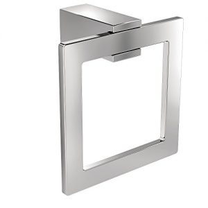 Moen BP3786CH KYVOS TOWEL RING CH, Small, Chrome
