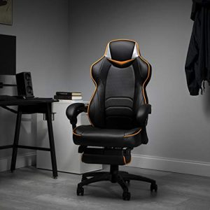 Fortnite OMEGA-Xi Gaming Chair, RESPAWN by OFM Reclining Ergonomic Chair with Footrest (OMEGA-02)