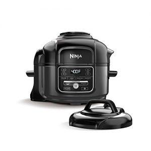 Ninja Foodi 7-in-1 Pressure, Slow Cooker, Air Fryer and More, 5-Quart, Black/Gray