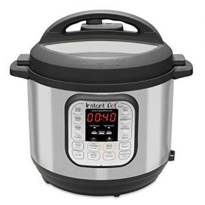 Instant Pot Duo 7-in-1 Electric Pressure Cooker, Slow Cooker, Rice Cooker, Steamer, Saute, Yogurt Maker, and Warmer, 6 Quart, 14 One-Touch Programs