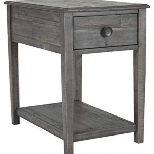 Signature Design by Ashley - Borlofield Rectangular End Table, Dark Gray