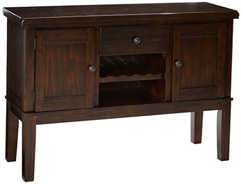 Signature Design by Ashley D596-60 Dining Room Server, Dark Brown