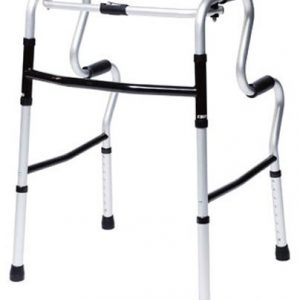 Lumex 3-in-1 UpRise - A Folding Walker, Stand-Up Aid, Toilet Safety Rail - 700175CR