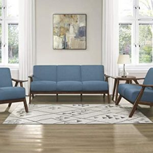 Lexicon 3-Piece Sofa Set, Blue