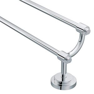 Moen DN0722CH Iso 24-Inch Double Towel Bar, Chrome