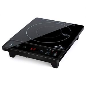 Duxtop Portable Induction Cooktop, Countertop Burner, Induction Burner with Timer and Sensor Touch, 1800W 8500ST