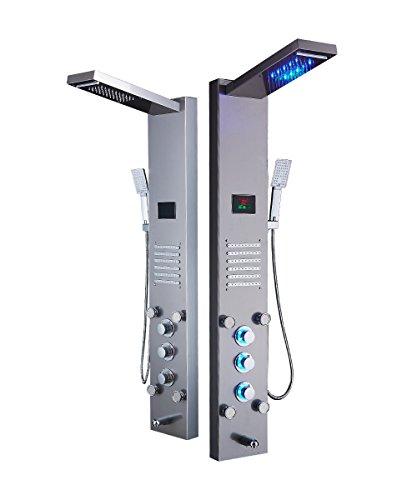 ELLO&ALLO LED Rainfall Waterfall Shower Head Rain Massage System Model: ELLO&ALLO