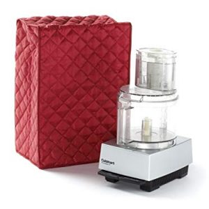 Covermates Keepsakes – Food Processor Cover – Dust Protection - Stain Resistant - Washable – Appliance Cover - Red