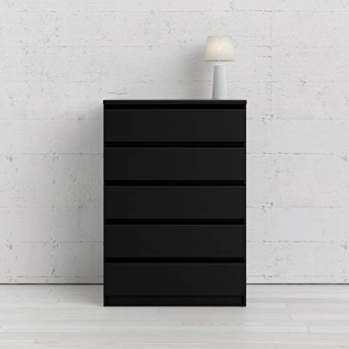 Tvilum 5 Drawer Chest, Black Matte Package deal Dimensions: 19.7 x 30.three x 43.eight inches