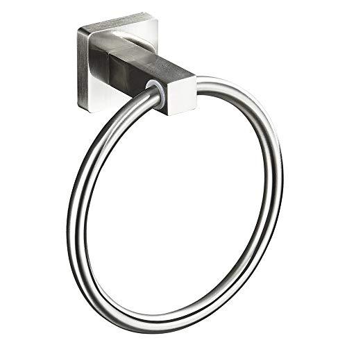 ENJYHZQY Hand Towel Ring Stainless Steel,Bathroom Towel Ring (Brushed Nickel)