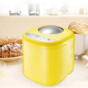 ZNSBH Bread Maker Machine, Automatic Bread Machine with Nut Dispenser Bread Maker with 10 Programmes Cooking Breadmaker Nonstick Ceramic Pan 3 Loaf Sizes & 3 Colors Gluten Free Whole Wheat