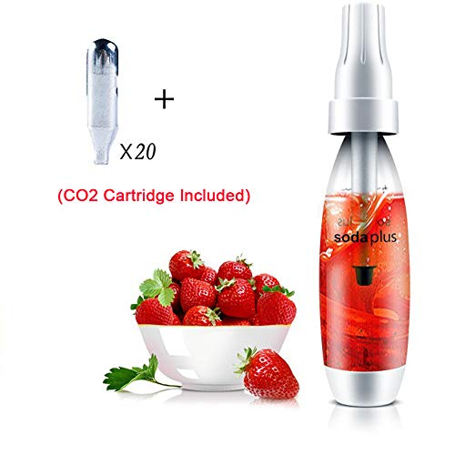 HXZB 1L Soda Siphon Carbonated Seltzer Water Maker Homemade Sparkling Beverages Machine Use Standard CO2 Chargers