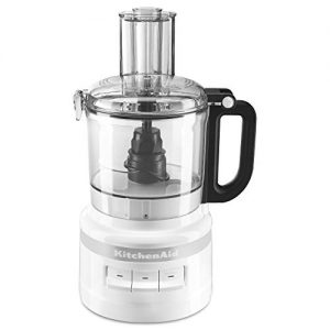 KitchenAid KFP0718WH Easy Store Food Processor, 7 Cup, White