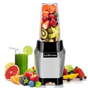 La Reveuse Personal Blender Making Shakes and Smoothies 1000 Watt-with 24 oz BPA Free Portable Travel Bottle - Dishwasher Safe