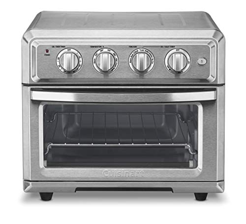 Cuisinart AirFryer, Convection Toaster Oven, Silver Guarantee: Restricted 3-Yr Guarantee