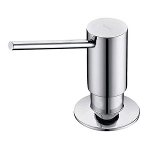Kraus KSD-41CH Modern Soap Dispenser, Pack of 1, Chrome